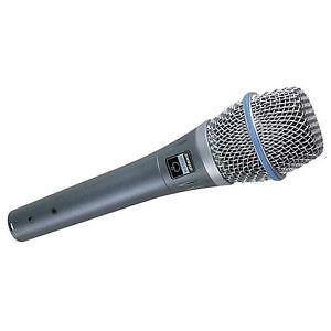 Shure condensator microfoon